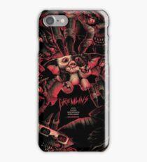 Gremlins movie poster iPhone Case/Skin