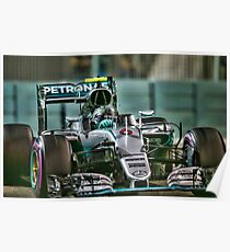 Nico Rosberg Formula 1World Champion 2016 Poster