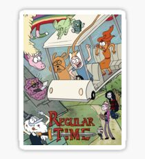 Regular Time Sticker