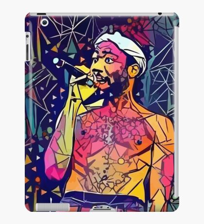 Abstract Singing Gambino iPad Case/Skin