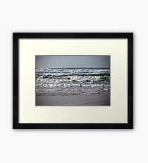 Western Portugal Ocean Coastline Framed Print