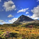 Quinag (Northface View) by Alexander Mcrobbie-Munro