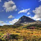 Quinag (Northface View) by Alexander Mcrobbie-Munro