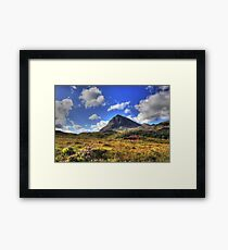 Quinag (Northface View) Framed Print