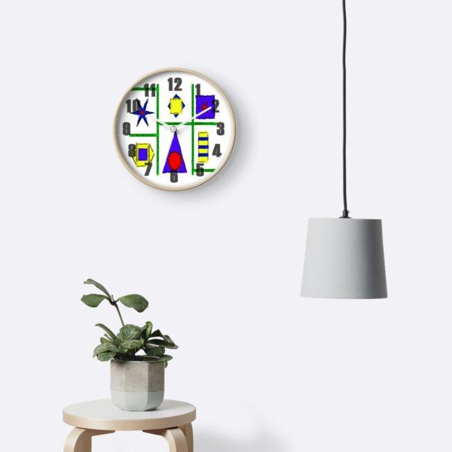 Art Deco Clock by Colin Majury