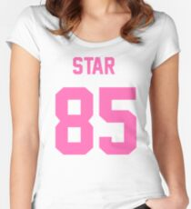 JEFFREE STAR JERSEY Women's Fitted Scoop T-Shirt