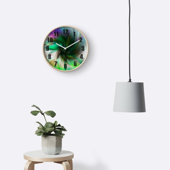 A Psychedelic Clock by Colin Majury