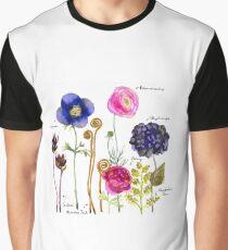 Garden flowers titled Graphic T-Shirt