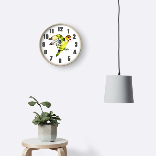 Parrot Clock by Colin Majury