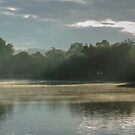 Mists Rising from the Jungle along the Thames  by MarcW