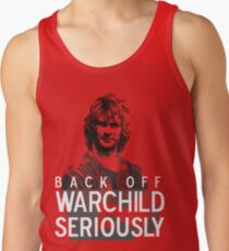 93b70f5998725 Back off Warchild - SERIOUSLY (dark) Men s Tank Top