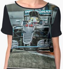 Formula 1 racing cars 2016 Women's Chiffon Top