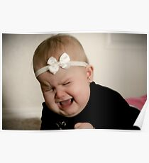 Precious baby tantrum Poster