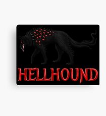 Hellhound Guardian of the Underworld Canvas Print