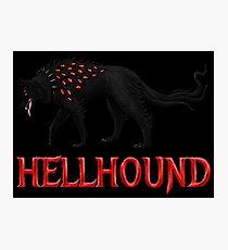 Hellhound Guardian of the Underworld Photographic Print