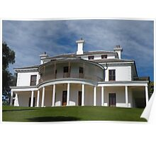 Strickland House, Sydney, Australia. Poster