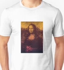 Sunset Mona Lisa T-Shirt