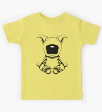 English Bull Terrier Sit Design Kids Clothes