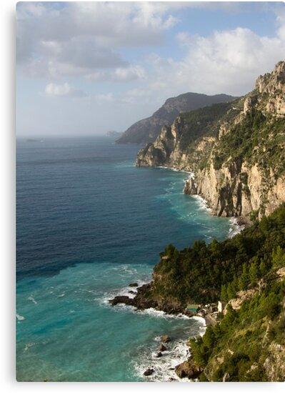 Amalfi Coastline  by Michelle Lia