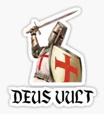 Deus Vult | Crusade  Sticker