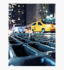 enough - times square Photographic Print