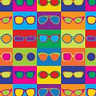 Pop Art Eyeglasses by Lisann