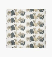 Pug Puppies Scarf