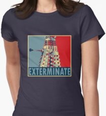 Exterminate Women's Fitted T-Shirt