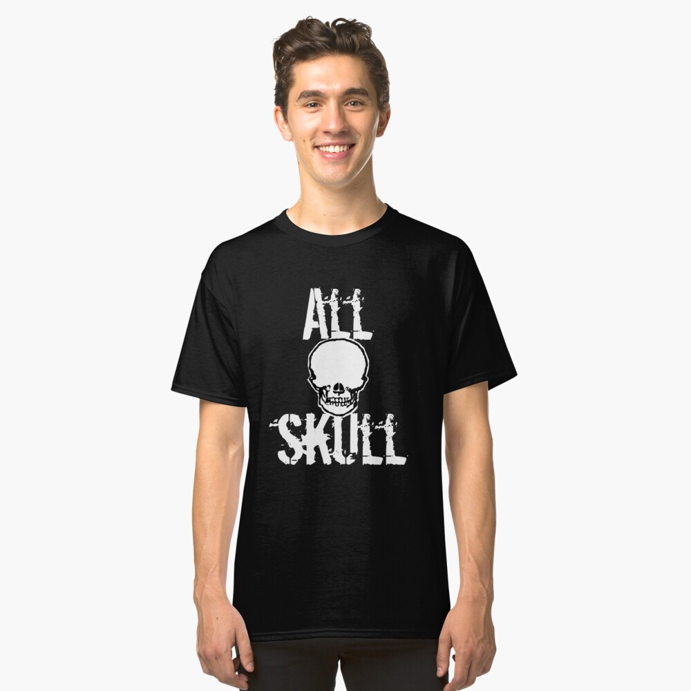 All Skull - The Dark Side Classic T-Shirt Front