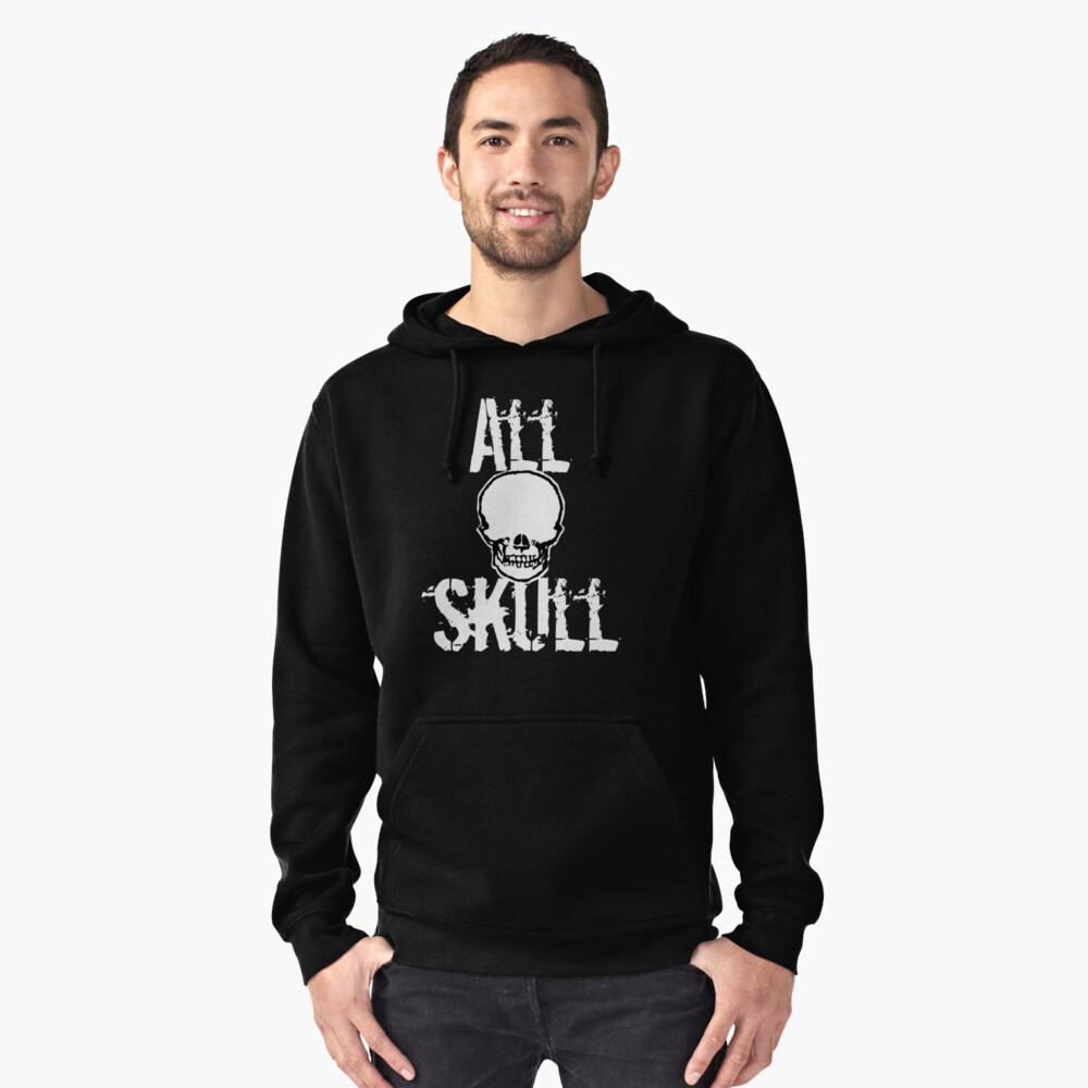 All Skull - The Dark Side Pullover Hoodie Front