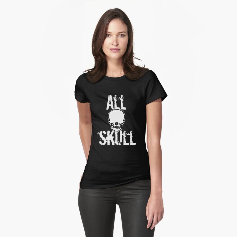 All Skull - The Dark Side Womens T-Shirt Front