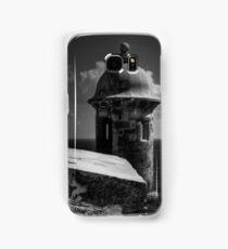 Garita del Morro 001 BW Samsung Galaxy Case/Skin