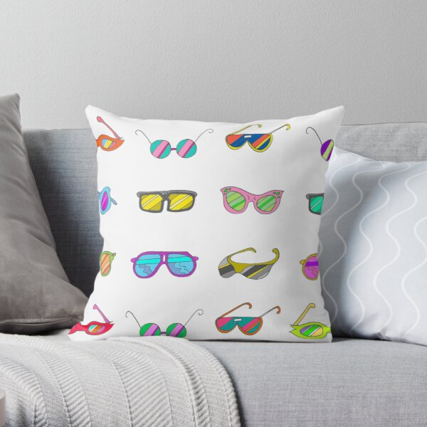 """Too Cool for School"" Throw Pillow"