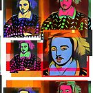 CHRISTOPHER MARLOWE, POET, SPY, ELIZABETHAN, COLLAGE by Clifford Hayes