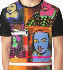 CHRISTOPHER MARLOWE, POET, SPY, ELIZABETHAN, COLLAGE Graphic T-Shirt