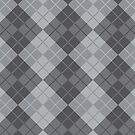 Grey Argyle by Lisann