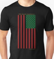 RED BLACK AND GREEN FLAG Unisex T-Shirt