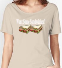 Bad Santa - Want Some Sandwiches? Women's Relaxed Fit T-Shirt
