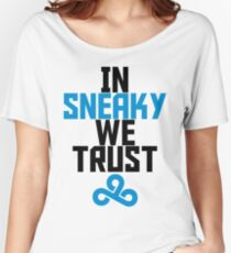 In Sneaky we trust Women's Relaxed Fit T-Shirt