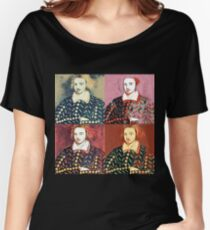 CHRISTOPHER MARLOWE, POET, ELIZABETHAN AND SPY Women's Relaxed Fit T-Shirt