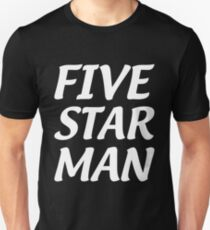 Five Star Man T-Shirt