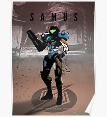 Legends of Gaming - Samus Poster