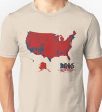 2016 Election Results Unisex T-Shirt