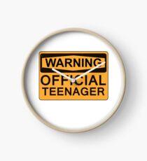 Reloj 13º Regalos de cumpleaños - Advertencia Adolescente oficial