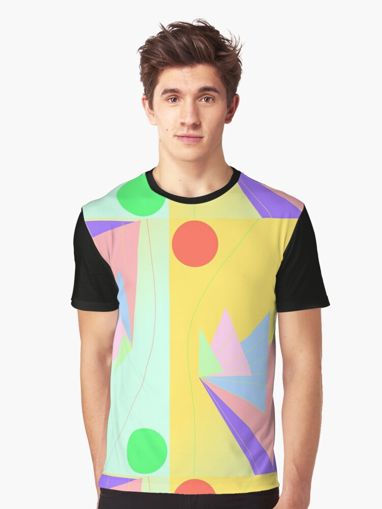 Origami Graphic T-Shirt Front