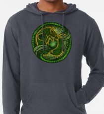 By the Dread Wolf's Design Lightweight Hoodie