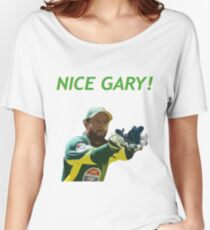 Nice Gary! - Matthew Wade Design Women's Relaxed Fit T-Shirt