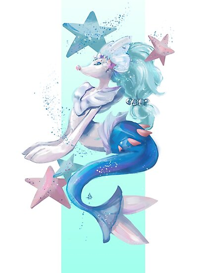 Primarina-Pokemon by Skizoh