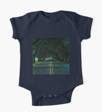 Highway Oak Tree Canopy Tunnel  One Piece - Short Sleeve