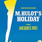 M. Hulot's Holiday Movie Poster by Simon Gentleman